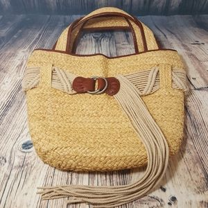 Polo Jeans Co Straw Bag